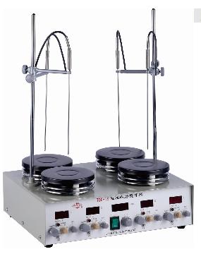 T09-1S四工位数显恒温磁力搅拌器