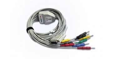 光电12导心电图机导联线