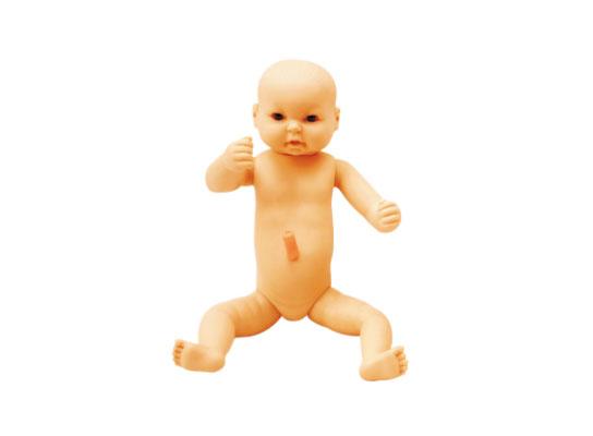 高级出生婴儿附脐带模型(男婴\女婴任选柔软型,重量3200克)