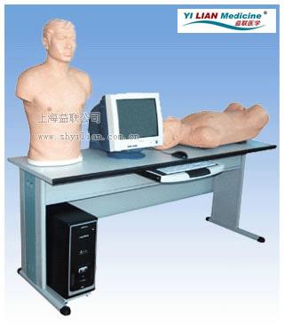 智能化心肺检查、腹部检查综合训练实验系统JC5000/GF 学生机