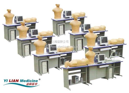 多媒体心肺听诊触诊与腹部触诊技能训练实验室系统JC3000B/GF 学生机