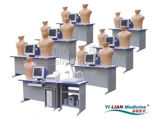 多媒体心肺听诊触诊技能训练实验室 型号:JC3000A/G 教师机