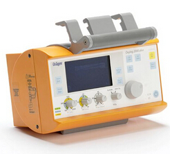 德尔格急救呼吸机Oxylog® 2000 plus