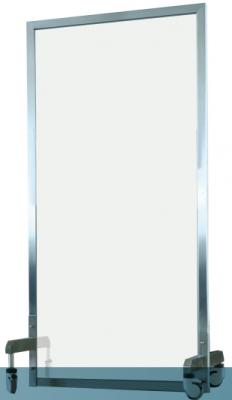 铅屏风-单联全透明bv伟德体育下载射线防护屏