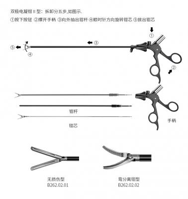 双极电凝钳II型