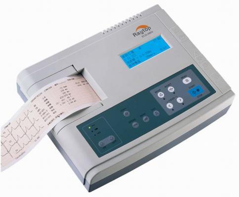 数字三道自动分析心电图机