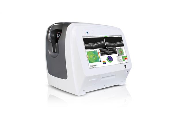 会说中文iScanOCT光学相干断层扫描仪