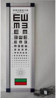 超薄视力表灯箱