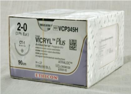 强生 ETHICON可吸收性缝线VCP345H