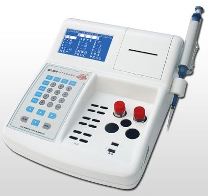 彩虹仪器GF-2000II型血凝仪