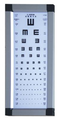 丹阳华龙LED视力表灯箱拼角CB-002